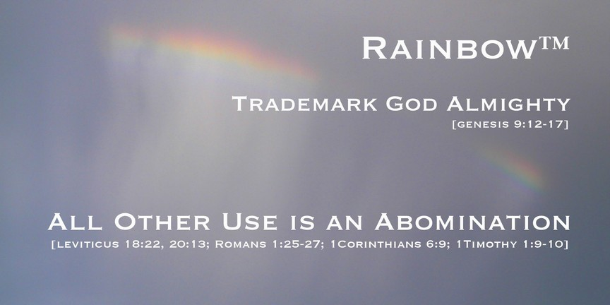 Rainbow Trademark God